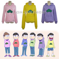 Most original Osomatsu-san Matsuno Ichimatsu Hoodie Hoody Sweater Cosplay Costume 6 Colors Custom sizes