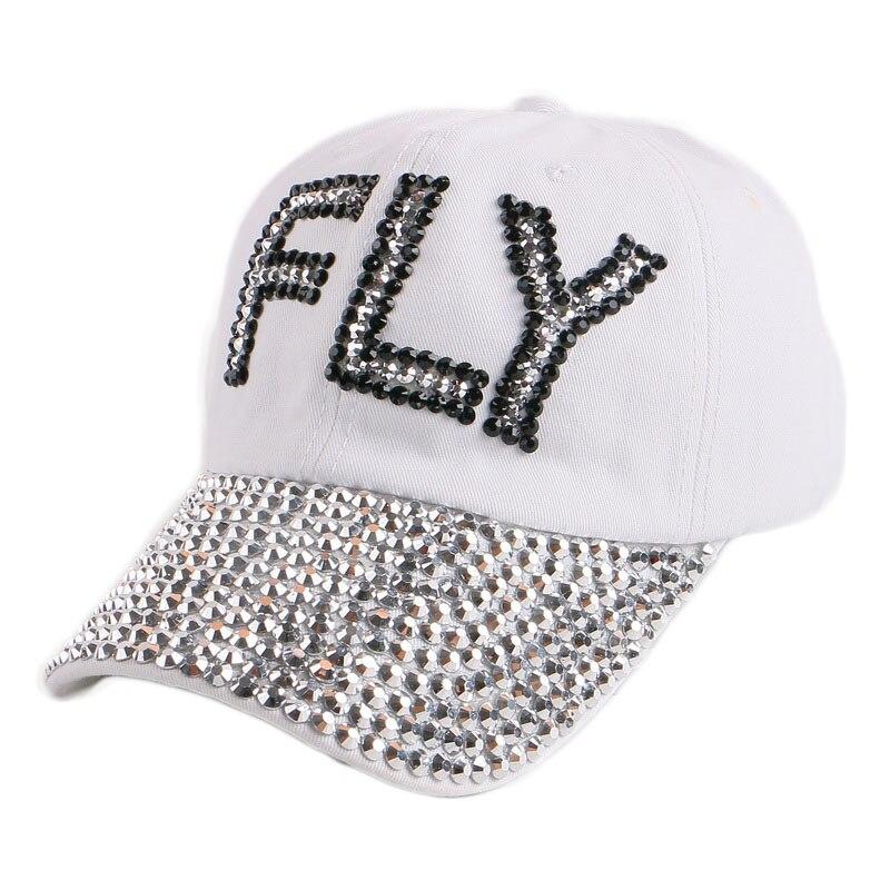 new hot sale FLY letter customized design hip hop autumn spring denim baseball caps for wome girl red black outdoor snapbacks