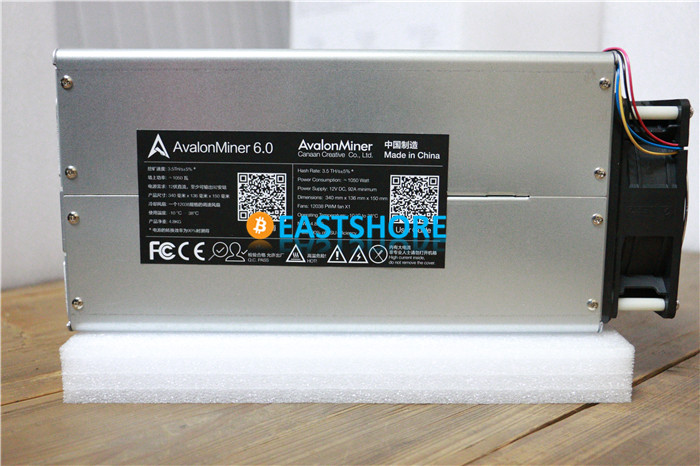 [SOLD OUT] Asic Miner Avalon 6 3.5TH Bitcoin Miner  3500GH Newest Btc Miner Better Than Antminer S5 With PSU Plug & Play