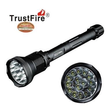 TrustFire AK-91 15xCREE T6 LED 18000 lumen LED Flashlight 5 Mode Aluminum Alloy High Power LED Flashlight by 4 x26650 Battery ручной фонарик trustfire 91 ak 15 t6 18000