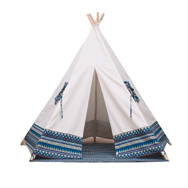Free Love @blue colr kids play tent indian teepee children playhouse children play room teepee  sc 1 st  AliExpress.com & Free Love @blue colr kids play tent indian teepee children ...