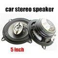 Un par 12 V 5 pulgadas de altavoces del automóvil coaxial de audio estéreo altavoz tweeter bajos max power music 180 W para todos los coches