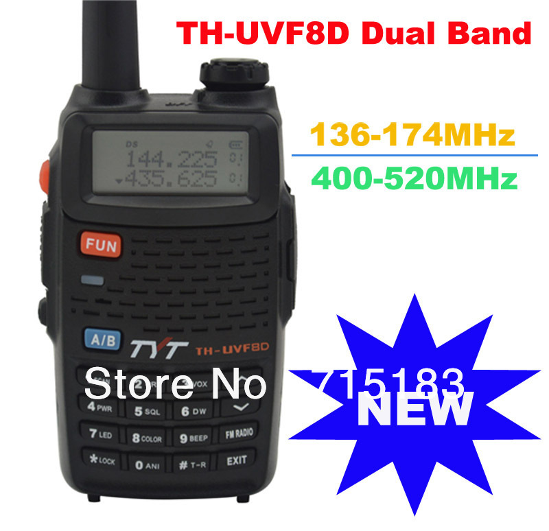 2013 new Scrambler TH-UVF8D Dual Band 136-174MHz & 400-520MHz 128CH Amateur Handheld Transceiver two way radio with FM Radio2013 new Scrambler TH-UVF8D Dual Band 136-174MHz & 400-520MHz 128CH Amateur Handheld Transceiver two way radio with FM Radio