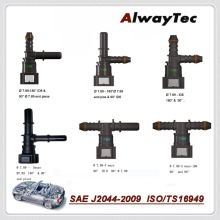 Топливопровод быстрый соединитель K Тип шланга соединитель и T тип 3 способ быстрого соединения для автоматического шланга муфты