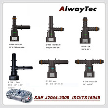 цены Fuel Line Quick connector K Type Hose Connector and T Type  3 way  Quick Release Connect for Auto Hose Coupler