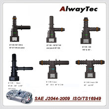 Fuel Line Quick connector K Type Hose Connector and T Type 3 way Quick Release Connect for Auto Hose Coupler
