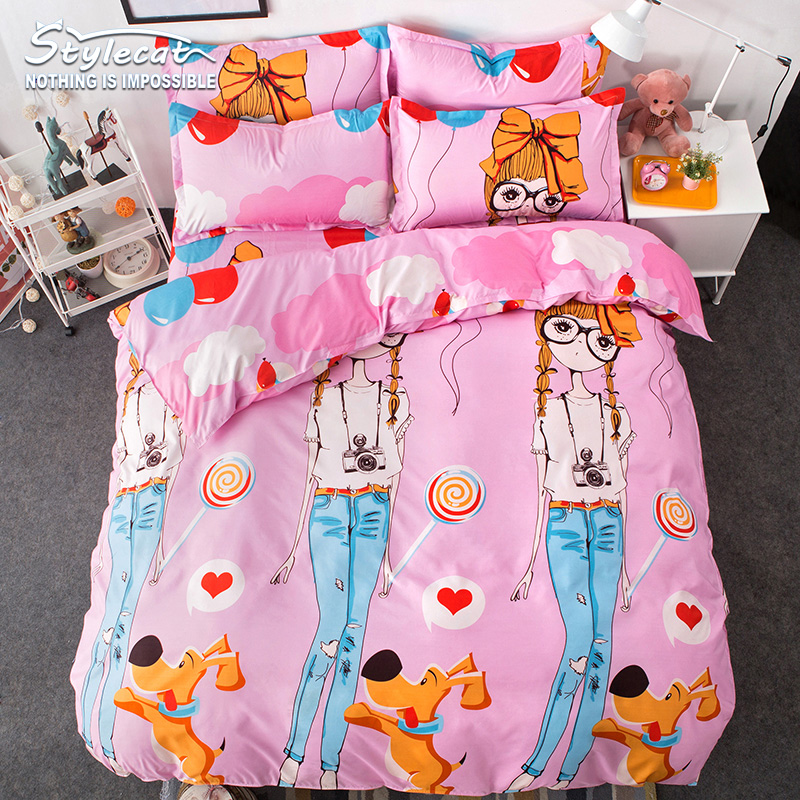 2017 fashion stylecat brand spring summer bedding sets new for New duvet covers 2017