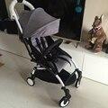 Nova Moda cinza kinderwagen carrinho de bebê 3 em 1 poussette pliante opvouwbare portátil do trole llichtgewicht opvouwbare buggy