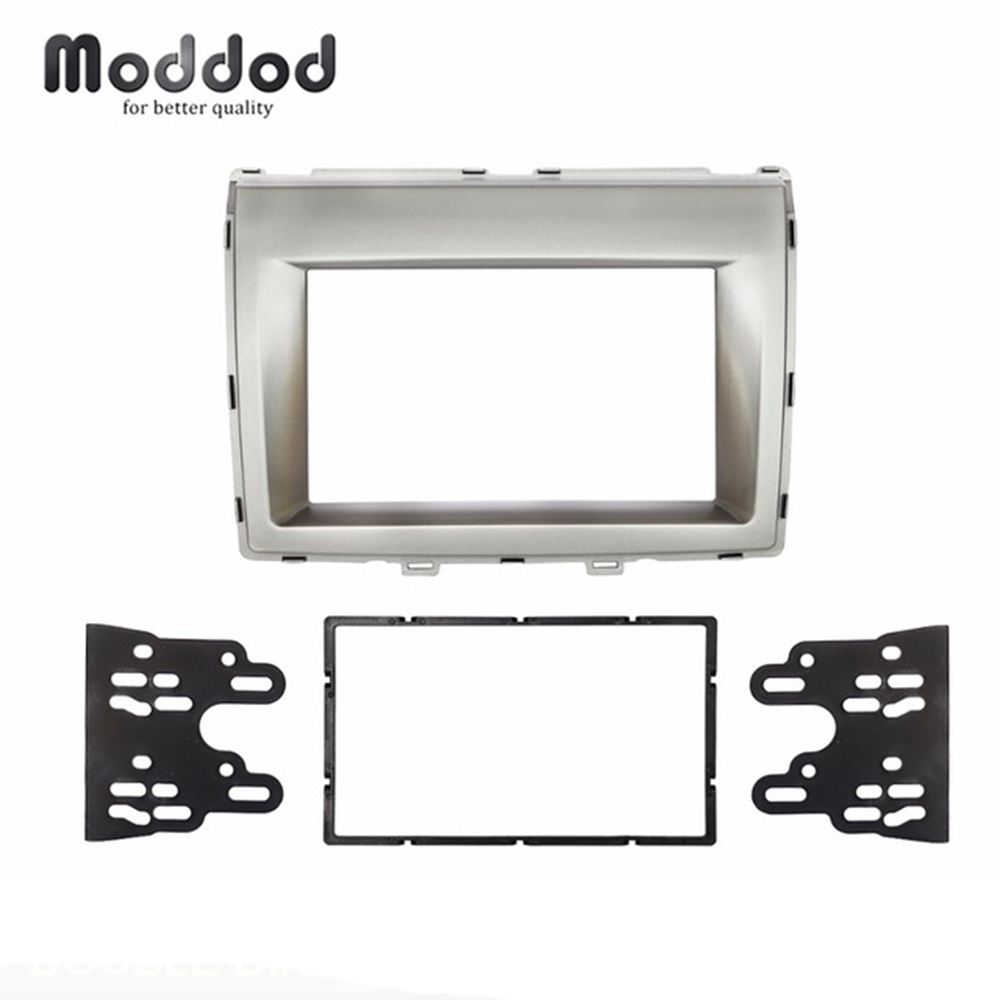 Double Din Radio fascia for MAZDA 8 MPV 2006 Stereo Panel Refitting Dash Mount Install Trim