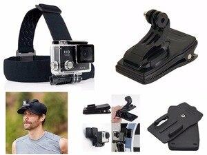 Image 4 - Набор спортивных аксессуаров для Garmin Virb 360 Ultra 30 X XE Kodak PIXPRO 4KVR360 ORBIT SP360 4K SPZ1 SP1 WP1 Dazzne DZ P2 P3