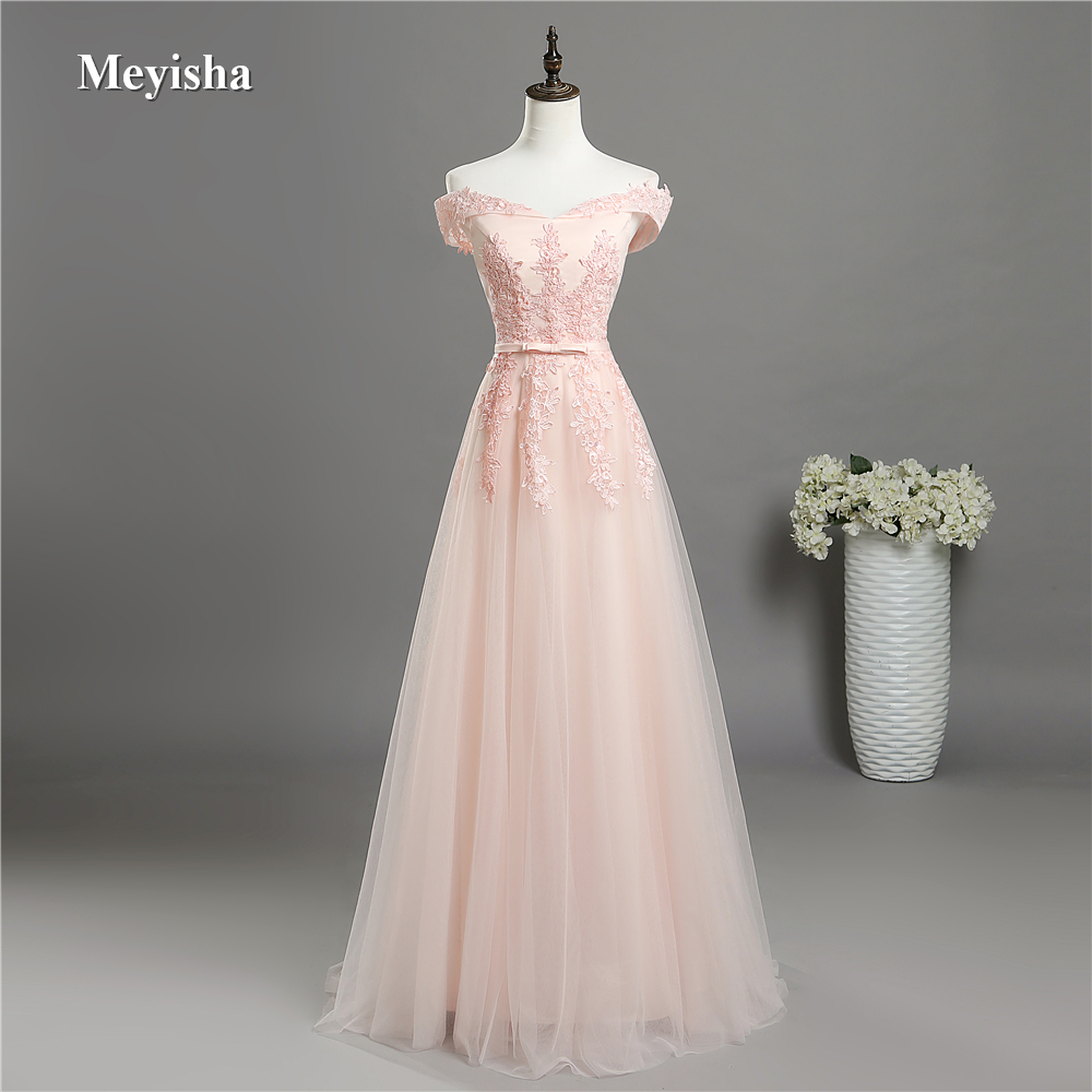 ZJ7027 Off Shoulder Crystal Beads Pink Prom   Dress     Evening     Dresses   Party Gown Long Maxi Plus Size 6 8 10 12 14 16 18 20 22 24 26