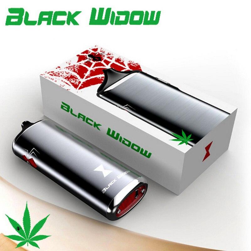 100% Original Black Widow Kingtons dry herb mod box kit 2200mah herbal vaporizer vape pen e cig cigarette black widow newest and hotest product e cig vapor mod god 180s with 220w box mod dry herb smy god 180s mod