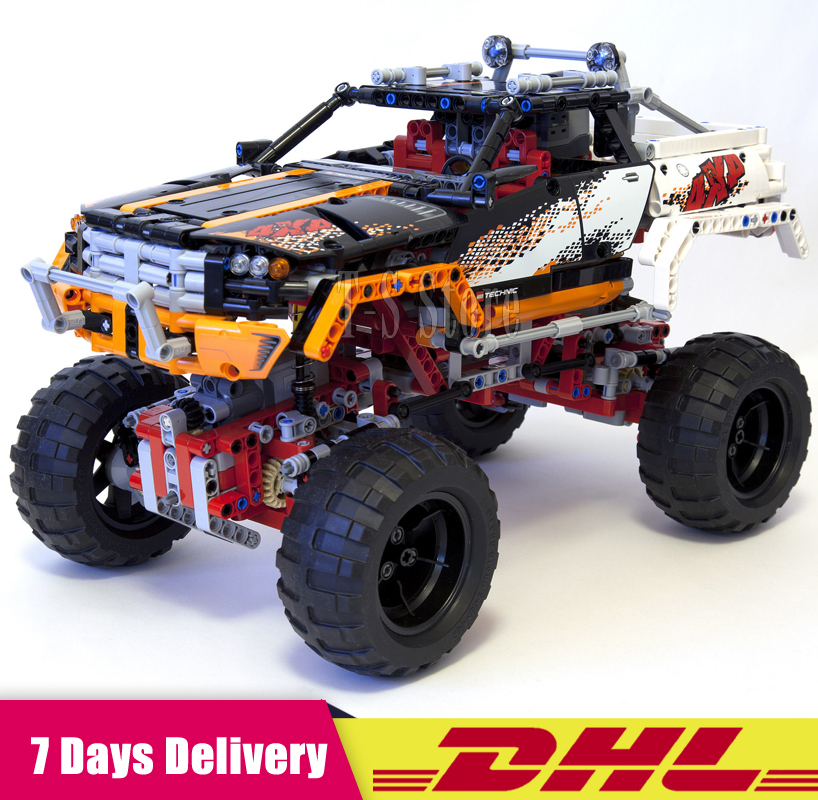 цена на DHL IN Stock Lepin 20014 1386PCS Ultimate Version The Remote-Control Four-Wheel Drive Off-road Vehicles Building Blocks Toy