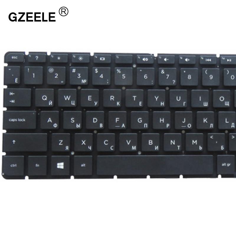 GZEELE Russian RU Keyboard For HP Pavilion 17-x000 17-x007ds 17-x008ds 17-x009ds 17-x010ds 17-X 17-Y Without Frame RU Keyboard