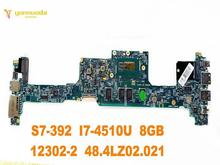 Original forACER S7-392 laptop motherboard S7-392 I7-4510U 8GB 12302-2 48.4LZ02.021 tested good free shipping