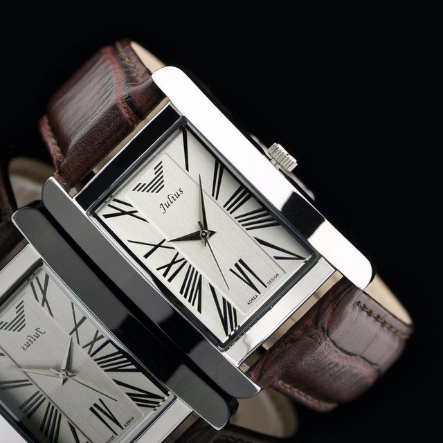 2015 Famous Brand  Fashion  Quartz Korea Design Waterproof Genuine Leather Strap Women Lady Dress Watches Wristwatch Gift