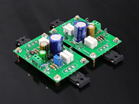 One Pair Assembeld PASS 5W Single Ended Class A FET MOS Amplifier Board