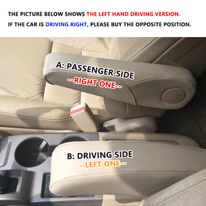 Image 5 - محرك سيارة هوندا CRV 2007 2008 2009 من الألياف الدقيقة/مقبض ذراع مقعد الركاب الجانبي للتزيين غطاء الحماية