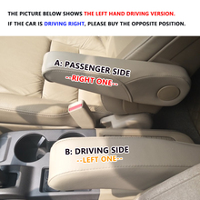For Honda CRV 2007 2008 2009 Microfiber Leather Car Seat / Door Armrest Handle Decor Cover Trim