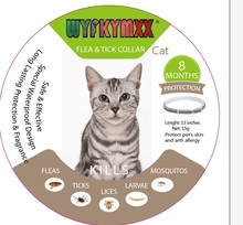 Cat Fea Collar Any Size Available 13inches 8 Month Protaction Gray Flea for cats