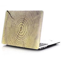 Marble Wood Crystal Shell For Apple Macbook Air 13 Case Air 11 Pro 13 Retina 12