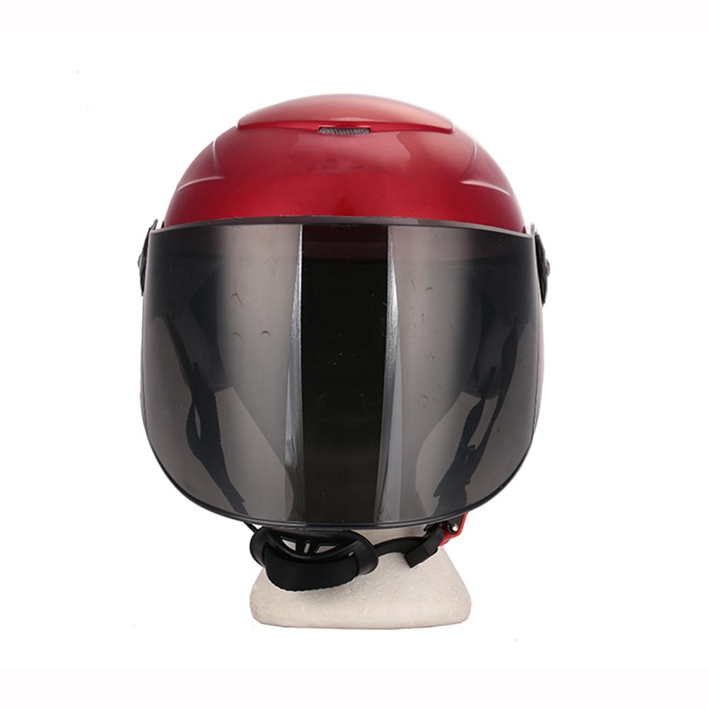 Capable Half Duplex Racing Motorcycle Helmet Craniacea Outdoor Crashworthy Anti-vibration Universal Durable Safety Hat