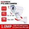 PTZ AHD Camera 720P 1MP 4X Optical Zoom Manual VariFocal 2.8-12mm Lens Pan/Tilt Rotation Outdoor 4Pcs Array Night Vision IR 30M