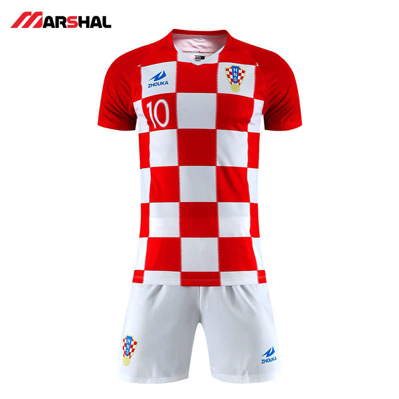 6f43caac1fe ... Custom made your team design plain soccer shirt Tops Uniform FootBall  Jerseys Breathable maker football kits ...
