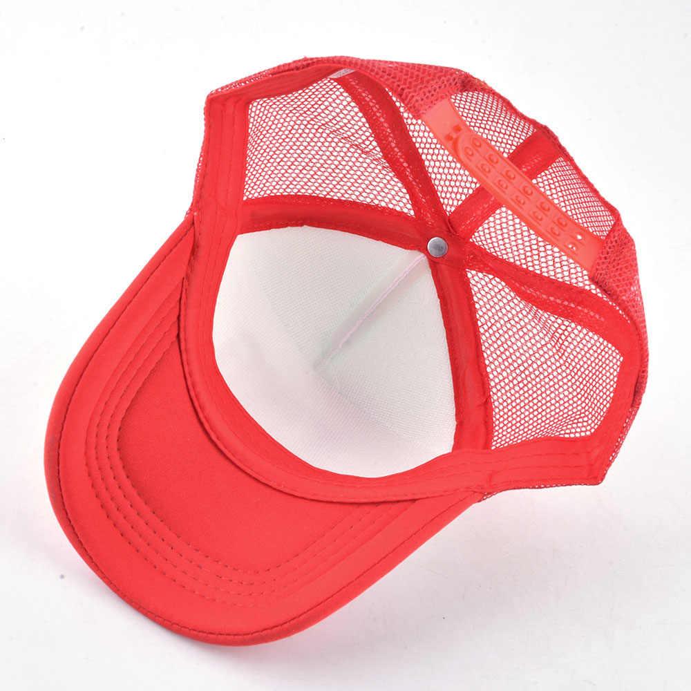 FS 2019 уличная детская бейсболка король и королева для мальчиков и девочек Летняя сетчатая Кепка Дальнобойщик красный оранжевый Snapback Детские шляпы Gorra хип-хоп