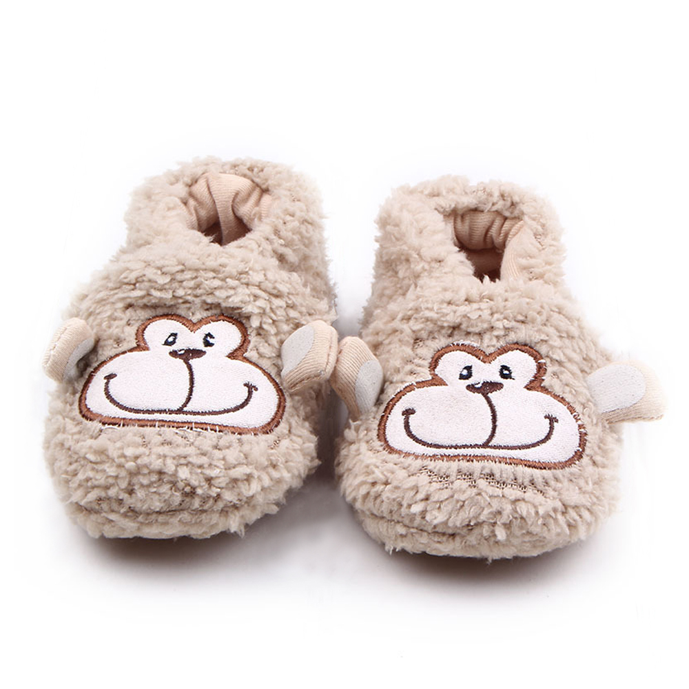 Scarpe invernali 2016 Scarpette per neonati Animali svegli del fumetto Infante neonato Toddler Home Calzature Peluche Necessità per bambini al coperto