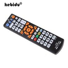 Kebidu TV جهاز تحكم عن بعد لاسلكي جهاز تحكم ذكي L336 مع وظيفة التعلم التحكم عن بعد للتلفزيون الذكية DVD SAT