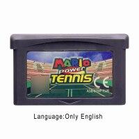 SUPER MARI TENNIS 32 Bit Video Game Cartridge Console Card EU Version
