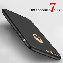 For iPhone 7 Case Soft TPU Silicon Phone Cases for iphone 7 Plus 6 6s Fashion Back Case Cover SE With Logo Window