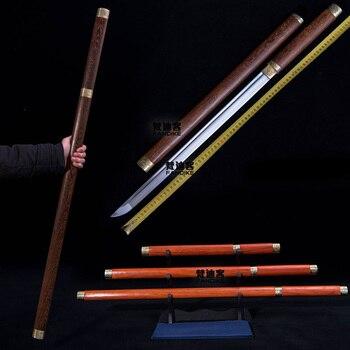 Chinese sword Handmade Chinese Sword Tang Dynasty Dao Handmade Chinese Dragon sword Tang Dynasty Straight Sword Razor Sharp Ninj фото