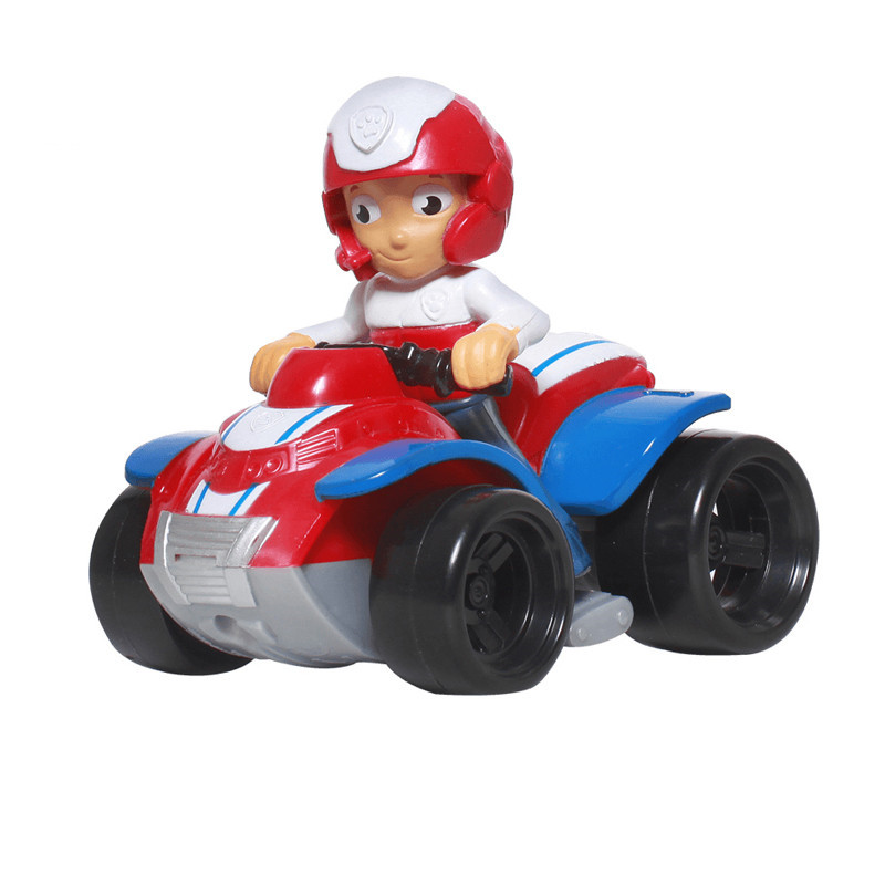 Paw Patrol Dog car patrulla canina Toys Anime Figurine Car Plastic Toy Action Figure model Children Gifts toys paw patrol patrol car vehicles toys figurine plastic toy action figure model patrulla canina kids toys combination set
