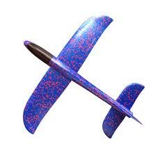 Детский самолет игрушка ручной бросок самолет из пеноматериала модель детский открытый Летающий планер игрушки EPP устойчивый прорыв самолет TY0310