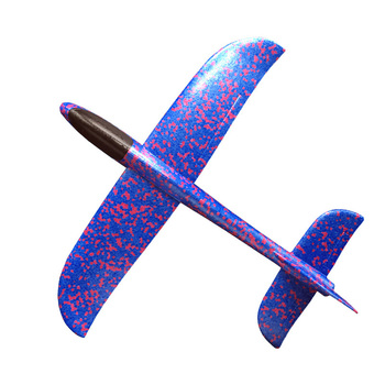 Kids Airplane Toy Hand Throwing Foam Plane Model Children Outdoor Flaying Glider Toys EPP Resistant Breakout Aircraft TY0310