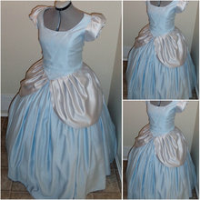 1860S Victorian Corset Gothic/Civil War Southern Belle Ball Gown Dress Halloween dresses  CUSTOM MADE R600