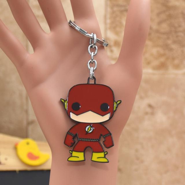 "The Flash-  Keychain ""The Flash Cartoon"""