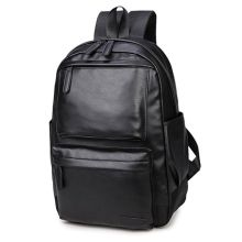 High Quality Fashion Men Women Leather Backpack Travel Rucksack Shoulder School Bag Bagpack 2019 New