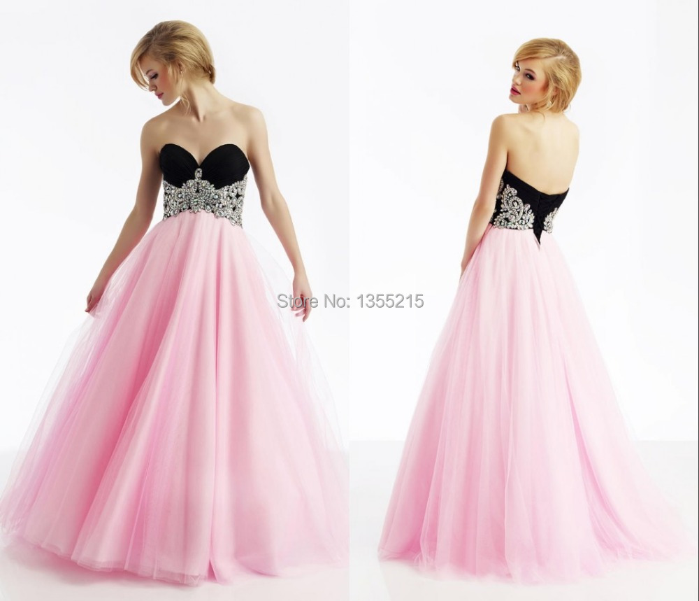 Long Puffy Formal Dresses