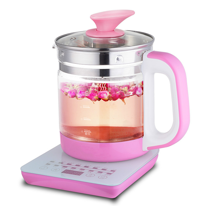 NEW Health pot automatic thickening glass multi-functional tea thermostat electric kettle flower health health pot mini automatic thickening glass multi purpose tea kettle flower tea pot boiling pot electric kettle