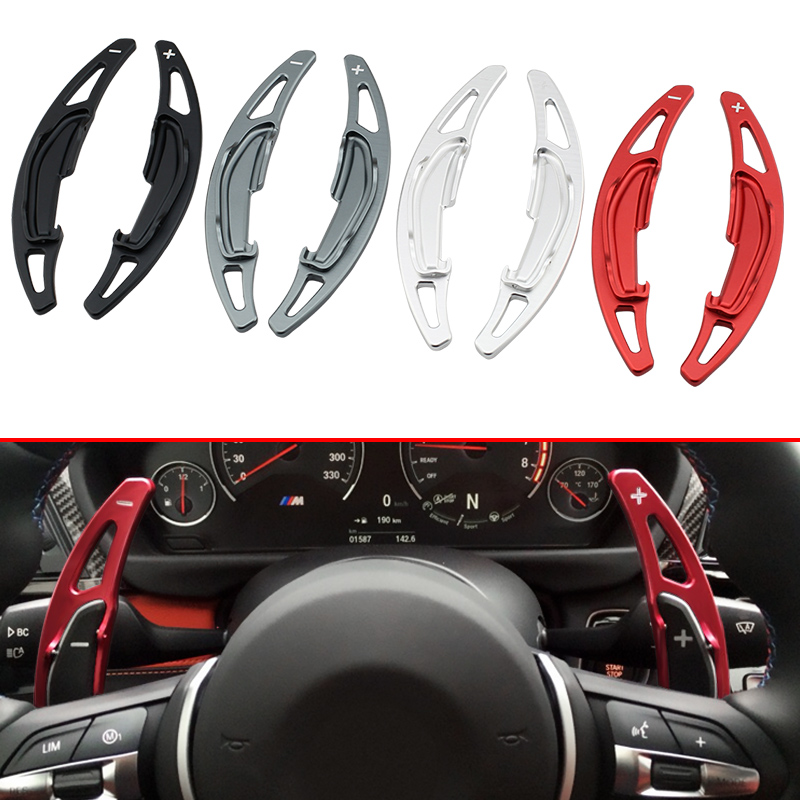 Style de voiture Volant De L'extension Pagaie manette de vitesse pour BMW M2 M3 M4 M5 M6 X5M X6M F10 F12 F87 F80 F82 F85 F86 ACCESSOIRES