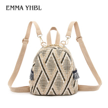 EMMA YHBL  Girl 2019 new trendy Korean version of summer fashion versatile student sweet satchel backpack