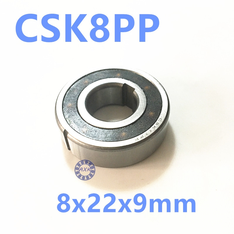 Free shipping 2pcs 608 CSK8 CSK8PP BB08 one way clutch bearing 8x22x9 printer/Washing machine/printing machinery two groove free shipping big roller reinforced one way bearing starter spraq clutch for polaris ranger rzr1000 xp rzr1000xp 2013 2015