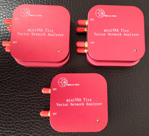 Image 2 - 1 M 3 GHz וקטור רשת Analyzer miniVNA זעיר Plus2 VHF/UHF/NFC/RFID RF אנטנה מנתח אות גנרטור SWR/S פרמטר/סמית