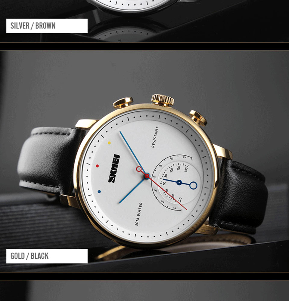 SKMEI 1399 Quartz Watch 5