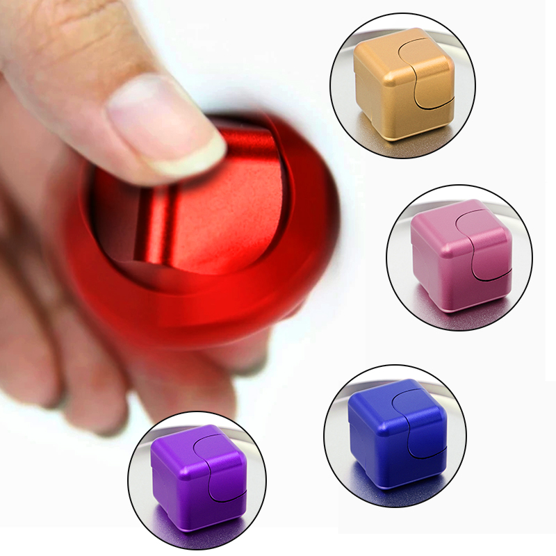 Deform Fidget Spinner Cube Gyro Fun Gift Relief Anxiety Anti-stress Figet Cubic Spinners Spiner Speaker Toys For Adults Children