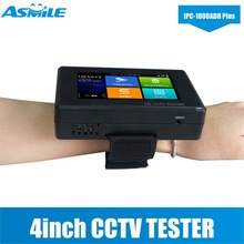 NEUE IPC-1800ADH Plus WIFI CCTV Tester Monitor TVI 8MP, CVI 4MP, AHD 5MP mit Android System Schnelle ONVIF, auto ansicht video