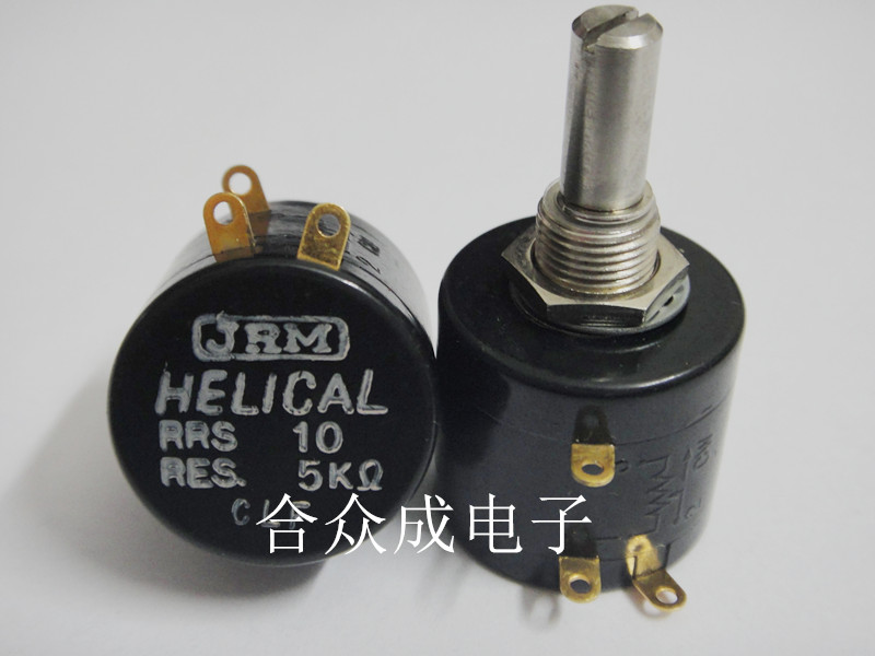 JRM HELICAL RRS10 50K high precision potentiometer switch